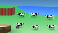 Dojeníe krów