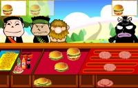 Bar z hamburgerami