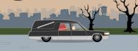Cmentarny samochód