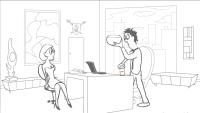 Jak sbalit sekretářku
