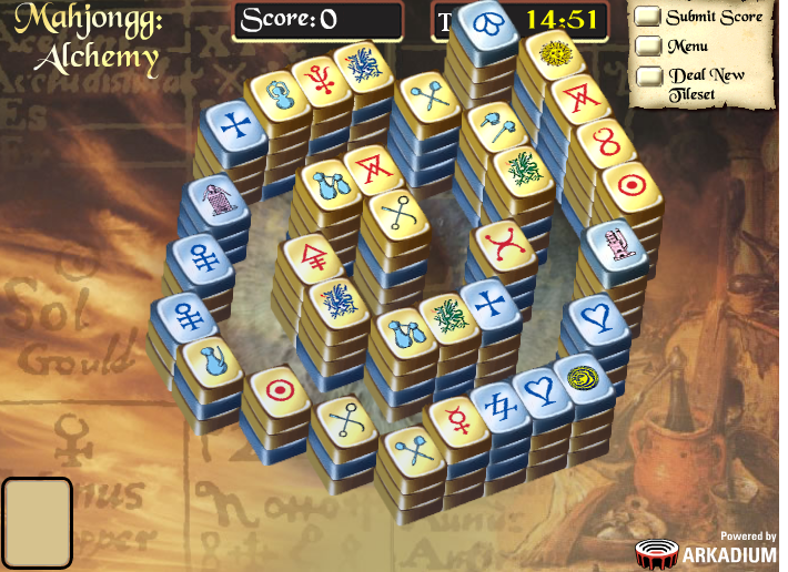 Alchemy Mahjongg