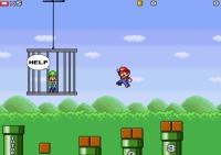 Mario zachraňuje Luigiho