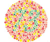 Oční test