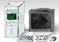 Rozbić komputer?
