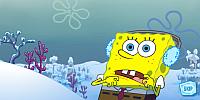Sponge Bob na lyžích
