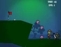 Zombie golf